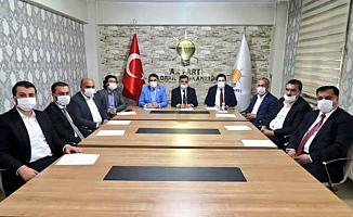 Ağrı Ak Parti Cumhurbaşkanı Erdoğan'la Bayramlaştı