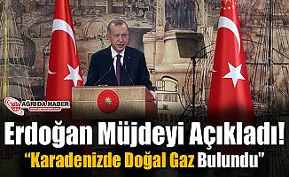 """Erdoğan Müjdeyi Açıkladı! """"Karadeniz'de Doğalgaz bulundu"""""""