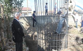 Ağrı Ağılbaşı Köy Camisine Minare Temeli Atıldı!
