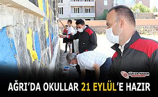 Ağrı'da okullar 21 Eylül'de Eğitime hazır