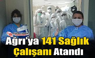 Ağrı'ya Yeni 141 Sağlık Çalışanı Atandı
