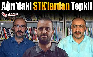 Ağrı'daki STK'lardan Ahlaksızlığa Tepki!