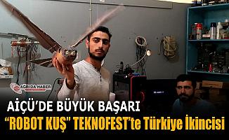 AİÇÜ'de Büyük Başarı! Robot Kuş TEKNOFEST'te Türkiye İkincisi oldu