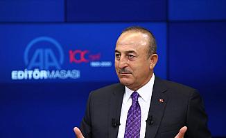 """Çavuşoğlu: """"Azerbaycan'ın yanındayız"""""""