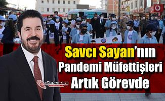 Savcı Sayan'ın Pandemi Müfettişleri Artık Görevde