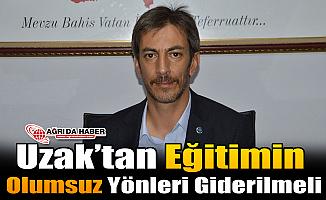 """Erhan Kılıç: """"Uzaktan Eğitimin Olumsuz Yönleri Giderilmeli"""""""