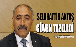 MHP Ağrı İl Başkanı Selahattin Aktaş Yeniden Başkan