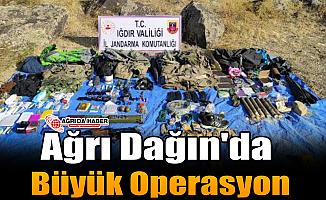 Ağrı Dağın'da Büyük Operasyon