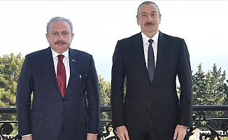 Azerbaycan Cumhurbaşkanın'dan Türkiye'ye Teşekkür