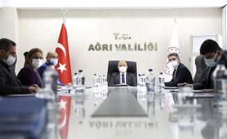 İl Toprak Koruma Kurul Toplantısı Ağrı Valisi Varol'un Başkanlığında Düzenlendi
