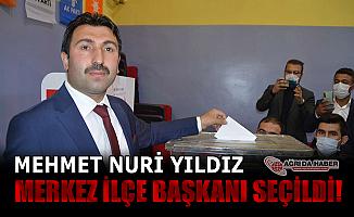 Mehmet Nuri Yıldız AK Parti Ağrı Merkez İlçe Başkanlığına seçildi
