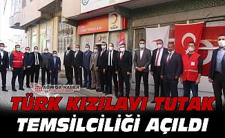 Türk Kızılayı Tutak Temsilciliği Açıldı
