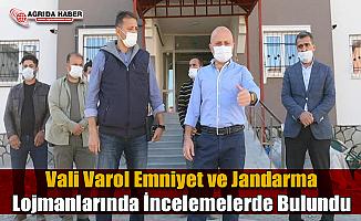 Vali Osman Varol Emniyet ve Jandarma Lojmanlarında İncelemelerde Bulundu