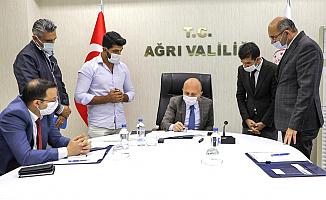 Vali Varol Başkanlığında Gıdakent Projesinin Ele Alındığı Toplantı Düzenlendi