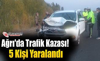 Ağrı'da Yeniden Kaza! 5 Kişi Hayatını Kaybetti