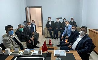 Taşlıçay Kaymakamı Murtaza Ersöz'den Ağrı Yurt Ay Der'e ziyaret