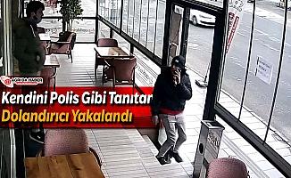 Ağrı'da Kendini Polis Gibi Tanıtan Dolandırıcı Yakalandı