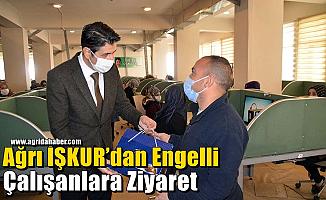 Ağrı İŞKUR'dan Engelli Çalışanlara Ziyaret