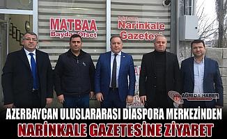 Azerbaycan Uluslararası Diaspora Merkezinden Narinkale Gazetesine Ziyaret