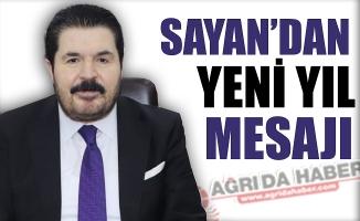 Belediye Başkanı Savcı Sayan'ın Yeni Yıl Mesajı