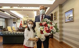 Mehmet Akif Ersoy'u Anma Haftası Kapsamında Vali Varol'a ziyaret