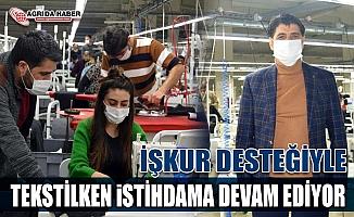Tekstilkent Pandemi döneminde de Ağrı'da istihdam sağlamaya devam ediyor