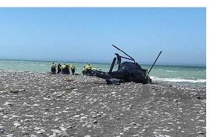 Yeni Zelanda'da Helikopter Kazası!