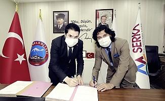 Ağrı Belediyesi ile Serhat Kalkınma Ajansı SERKA arasında protokol imzalandı
