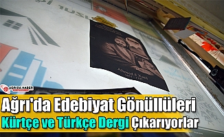 Ağrı'da Edebiyat Gönüllüleri Kürtçe ve Türkçe Dergi Çıkarıyorlar