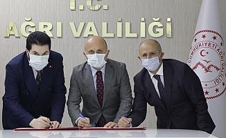 Ağrı Tapu ve Kadastro İl Müdürlüğü Yeni Binası İçin Protokol İmzalandı