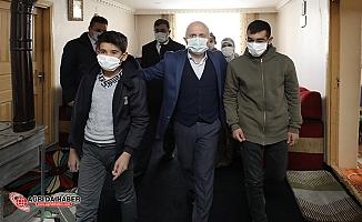 Ağrı Valisi Dr. Osman Varol'dan Tunç Ailesine Ziyaret