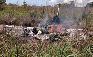 Brezilya kulübü Palmas'ın Özel Uçağı Düştü!