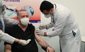 Cumhurbaşkanı Erdoğan Koronavirüs Aşısı Oldu!