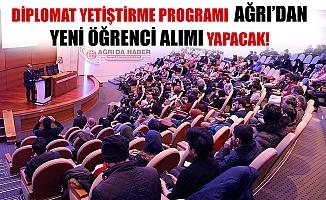 Diplomat yetiştirme Programı Erzurum Diplomasi Akademisi Ağrıdan yeni Öğrenci Alımı