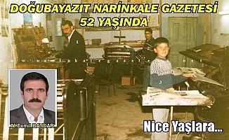 Doğubayazıt Narinkale Gazetesi 52 Yaşında