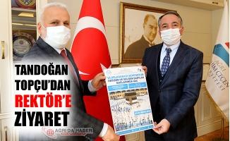 İl Müftüsü Tandoğan Topçu'dan Abdulhalik Karabulut'a Ziyaret