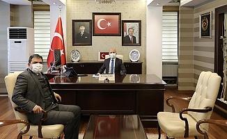 KaymakamAlper Balcı'dan Vali Varol'a ziyaret