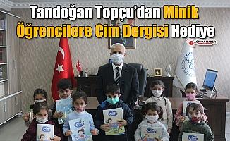 Tandoğan Topçu'dan Minik Öğrencilere Cim Dergisi Hediye