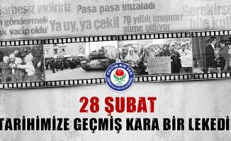 """Abdurrahman Aslan: """"28 Şubat kara bir lekedir"""""""