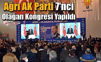 AK Parti Ağrı 7. Olağan Kongresi Yapıldı