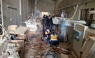 Bursa'da Fabrikada Patlama! 1 İşçi Hayatını Kaybetti