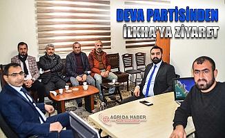"""DEVA Partisi Ağrı İl Başkanı Dağtekin """"Siyasetin üretime dayalı olmalı"""""""