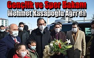 Gençlik ve Spor Bakanı Mehmet Kasapoğlu Ağrı'da
