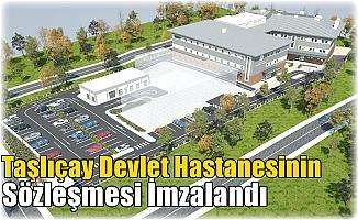 Taşlıçay Devlet Hastanesinin Sözleşmesi İmzalandı