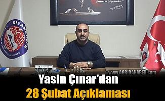 Yasin Çınar'dan 28 Şubat Açıklaması