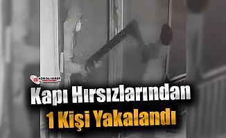 Ağrı'da Kapı Çalan Hırsızlardan 1'i Yakalandı