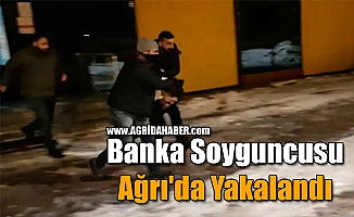 Banka Soyguncusu Ağrı'da Yakalandı