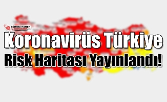 Koronavirüs Türkiye Risk Haritası Yayınlandı!
