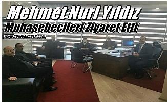 Mehmet Nuri Yıldız Muhasebecileri Ziyaret Etti