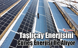 Taşlıçay Enerjisini Güneş Enerjisi İle alıyor